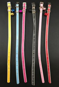 Designer Collar with Bell for Puppy, Kitten, Dog and Cat - Style 3