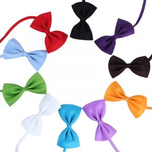 Adjustable Bow Tie Fancy Pet Collar for Dogs and Cats