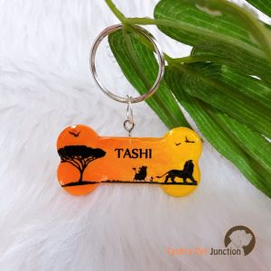 The Lion King Theme Personalized/Customized Name Tags for Dogs and Cats with Name and Contact Details