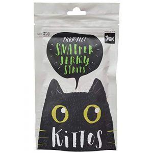 Kittos Cat Treat, Snapper Jerky Treat - 35 gm