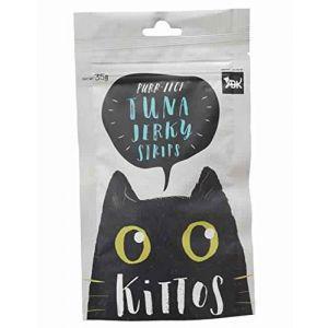 Kittos Cat Treat, Tuna Jerky Strips - 35 gm