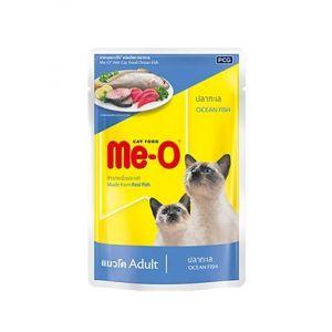 Meo Wet Cat Food, Ocean Fish - 80 gm