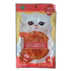 Cataholic Neko, Chicken Jerky Sliced Cat Treat - 30 g