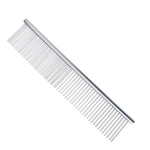 Stainless Steel Long Comb Grooming Tool for Pets