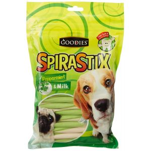 Goodies Spirastix Peppermint and Milk Dog Treat - 450 gm