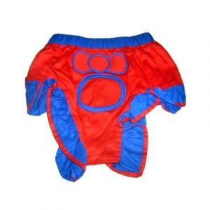 Zorba Nappy for Large Dogs, Red