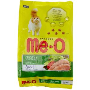 Meo Adult Cat Food, Chicken and Vegetable - 1.2 Kg