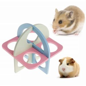 Small Animal Activity Pet Toy, Ladder Exercise Fitness Toys for Hamster, Squirrel, Chinchilla and Guinea Pig