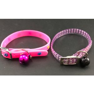 Designer Collar with Bell for Puppy, Kitten, Dog and Cat - Style 4