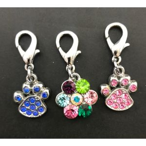 Rhinestone Tags for Dogs and Cats