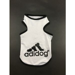 Cotton T-Shirt for Dogs and Cats - Adidog Mesh Vest (Pet Clothing)