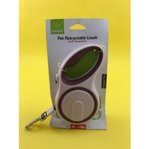 Retractable Dog Leash for Pets up to 25 Kg