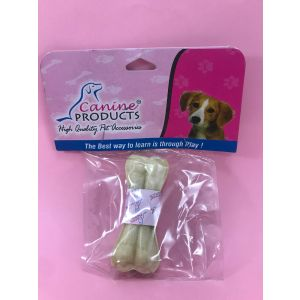 Canine Rawhide Pressed Chew Dog Bone - 3 inch, 1 Piece