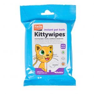 Karlie Kitty Wipes, Instant Pet Bath - 15 Wipes