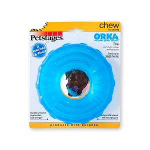 Petstages Orka Tire Chewing Toy for Large Dogs