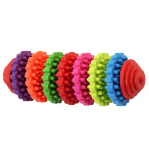 Natural Rubber Toy cum Tug Toy Cum Chew Toy for Dogs